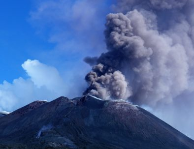 New eruption etna 08/23/2018