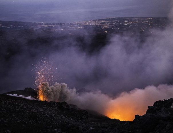 New etna eruption 12/24/18