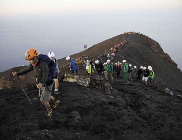 escursione nei vulcani della Sicilia