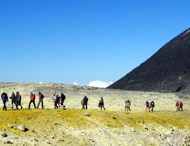 Etna crossing excursion