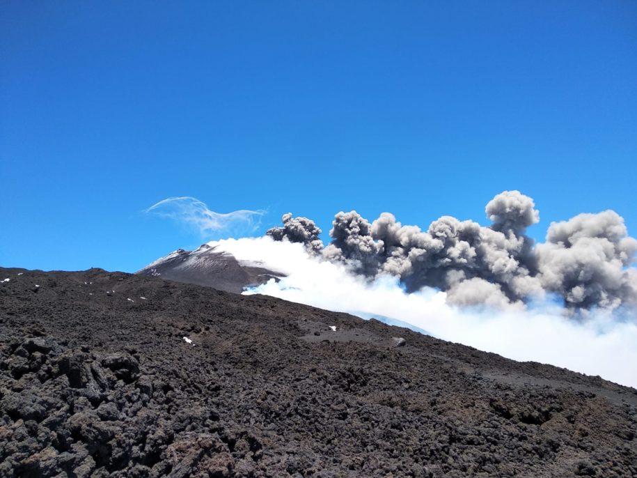 eruzione etna 30 maggio