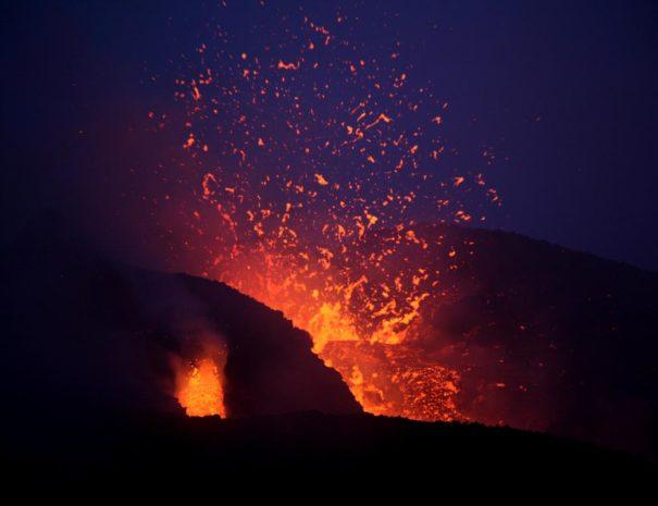 escursione eruzione
