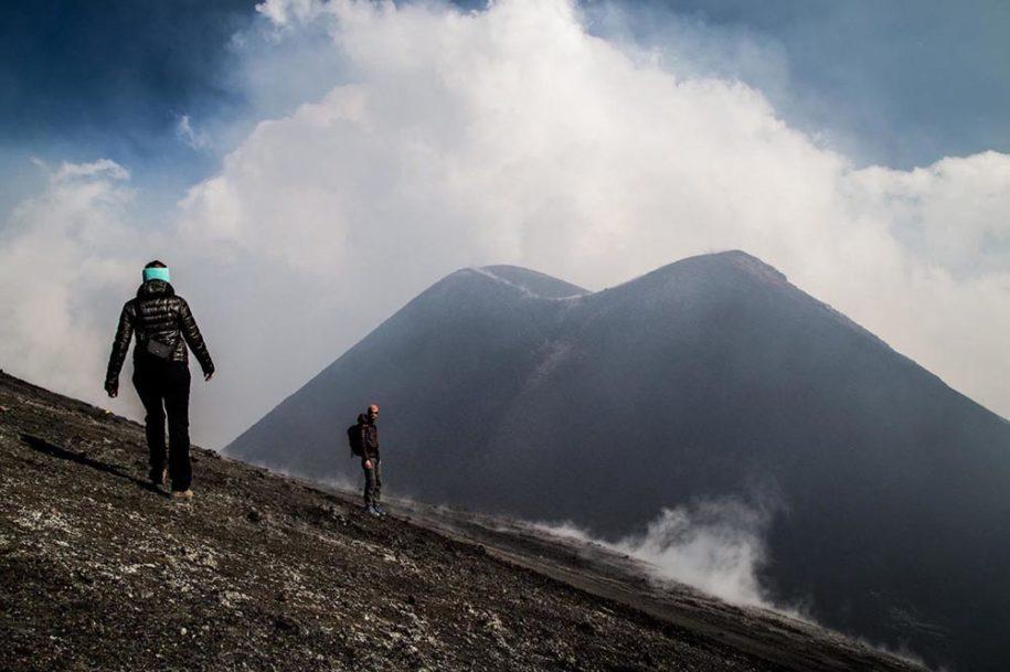 escursione cratere etna