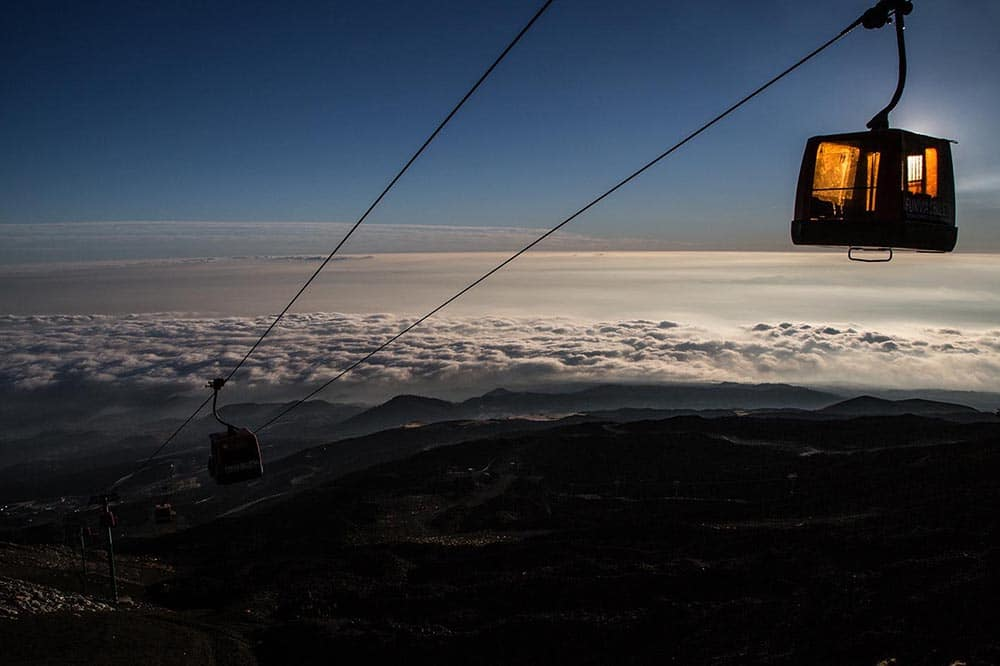 excursion etna with cablecar